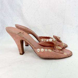 MOSCHINO cheap and chic vintage 90s heels